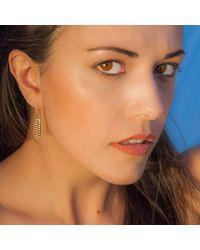 Kaali Designs | Multicolor Ragazza Rose Gold Earrings | Lyst