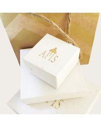 Apis Atelier - Metallic Baie Lazare Earrings - Lyst