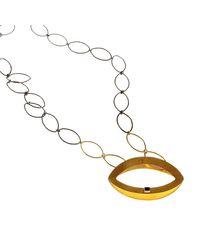 Isla | Metallic Fenician Onyx Necklace | Lyst