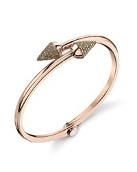 Borgioni | Metallic Small Spike Handcuff In Rose Gold | Lyst