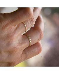 Irena Chmura Jewellery - Multicolor Dot And Chain Ring - Lyst