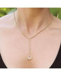 Verve Jewelry - Multicolor Clover - Clear Necklace - Lyst