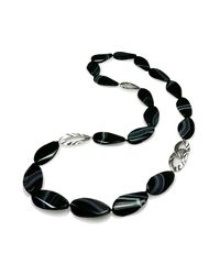 K.Mita - Black Stone Necklace - Lyst