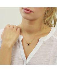 Jana Reinhardt Jewellery - Multicolor Black Heart Necklace - Lyst