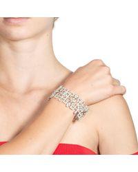 Katherine LeGrand Custom Goldsmith - Multicolor Aria White Gold Bracelet - Lyst