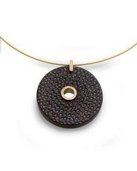 Nitsa Rona - Multicolor Millstone Necklace - Lyst