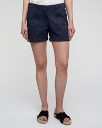 Jigsaw - Blue Chino Utility Shorts - Lyst
