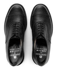 Jigsaw - Black Sanders X Oxford Shoe for Men - Lyst
