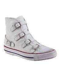 Ash | Virgin Sneaker White Leather | Lyst