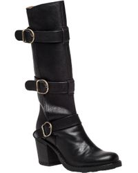 Fiorentini + Baker | Laverne Lety Black Leather Boot | Lyst