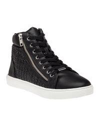 Steve Madden | Eiris Black High Top Sneaker for Men | Lyst