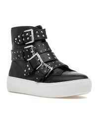 J/Slides - Yellow Aghast Sneaker Black Leather - Lyst