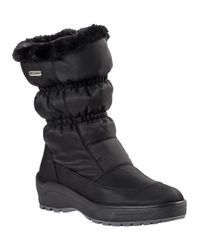 Pajar | Snowcap Snow Boot Black Fabric | Lyst