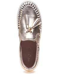 J/Slides - Multicolor Cheyenne Platino Leather Slip On - Lyst