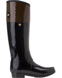 Hunter - Brown Carlyle Rain Boot Milk Chocolate Rubber - Lyst