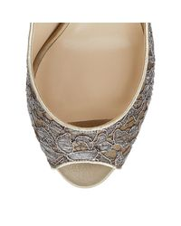 Jimmy Choo - Metallic Isabel - Lyst