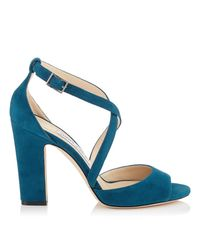 Jimmy Choo - Blue Carrie 100 - Lyst