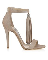 Jimmy Choo | Natural Viola 110 | Lyst