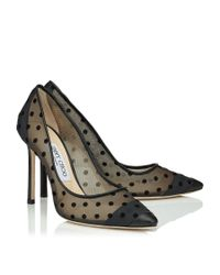 Jimmy Choo - Black Romy 100 - Lyst