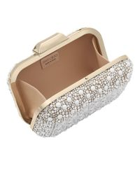 Jimmy Choo - White Cloud Clutch Bag  - Lyst