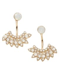 Joe Fresh - White Ivory Stone Ear Jackets - Lyst