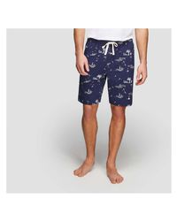 Joe Fresh - Blue Men's Knit Sleep Short for Men - Lyst