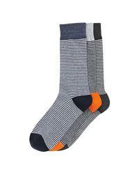 Joe Fresh | Blue Men's 3 Pack Socks for Men | Lyst