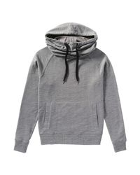 Joe Fresh - Gray Marled Active Hoodie - Lyst