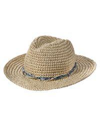 Joe Fresh - Natural Floppy Straw Hat - Lyst