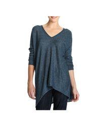 Joe Fresh - Blue Long Sweater - Lyst