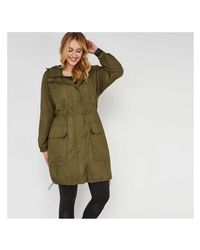 Joe Fresh - Green Women+ Anorak - Lyst