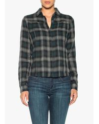 Joe's Jeans | Green Vivi Shirt | Lyst