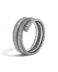 John Hardy - Metallic Classic Chain Double Coil Bracelet - Lyst