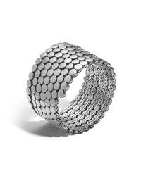 John Hardy | Metallic Multiple Coil Bracelet | Lyst