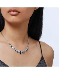John Hardy - Gray Naga Necklace With Grey Mother Of Pearl - Lyst