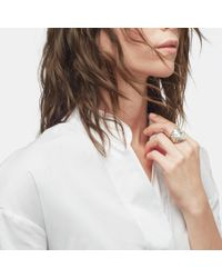 John Hardy - Metallic Modern Chain Ring - Lyst