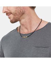 John Hardy - Metallic Barrel Necklace - Lyst