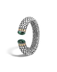 John Hardy - Metallic Kick Cuff With Malachite - Lyst
