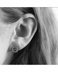 Dyrberg/Kern - Metallic Koro Brass Earrings - Lyst