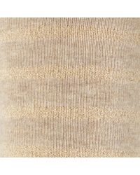 John Lewis - Multicolor Sparkle Stripe Roll Top Ankle Socks - Lyst