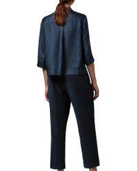 Toast - Blue Dayu Print Pj Silk Shirt - Lyst