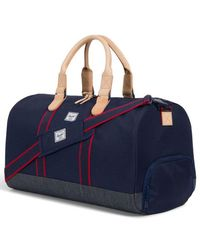 9af4310929c Herschel Supply Co. Novel Peacoat Duffle Holdall in Blue - Lyst