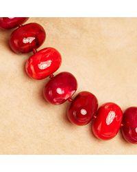 John Lewis - Purple Potato Bead Statement Necklace - Lyst