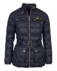 Barbour | Black Pannier Baffle Quilted Jacket | Lyst