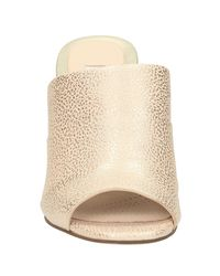 Clarks | Pink Image Pop Peep Toe Wedge Heeled Sandals | Lyst