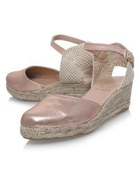 KG by Kurt Geiger - Multicolor Minty Two Part Wedge Heeled Espadrilles - Lyst