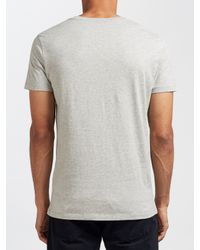DIESEL | Gray T-diego-hf Print T-shirt for Men | Lyst