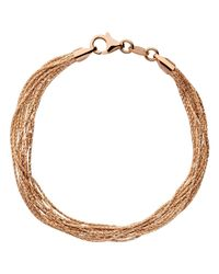 Links of London - Metallic Silk 10 Row Bracelet - Lyst