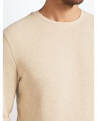 John Lewis | Natural Waffle Knit Top for Men | Lyst