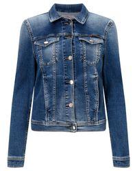 Calvin Klein | Blue Jet Trucker Jacket | Lyst